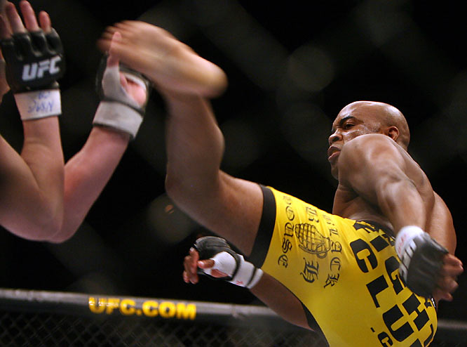 "Just off the heels of downing Rich Franklin for the UFC middleweight belt, Silva took down Lutter, the winner of ""The Ultimate Fighter 4,"" by second-round submission at UFC 67."