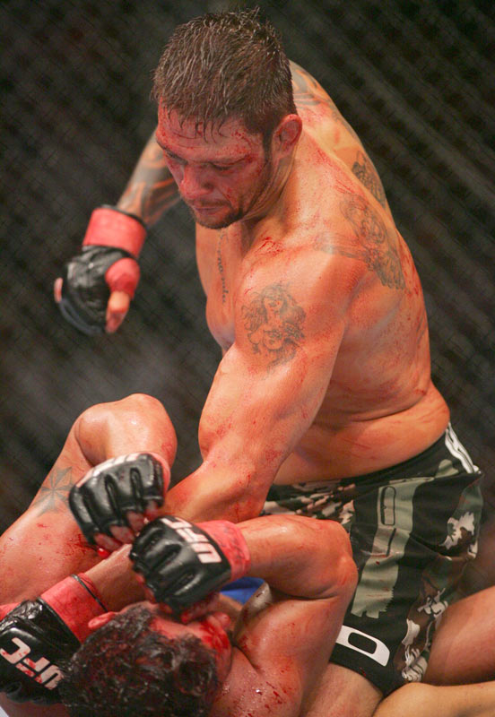 While Sobral managed to take down Heath at UFC 74 last year, the Brazilian ended up losing his contract with the league because he choked Heath until he was unconscious -- a move that allegedly defied the referee's orders.