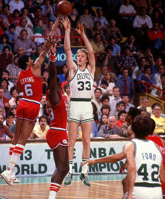 <i>1978-79</i>: 29-53 <br><i>1979-80</i>: 61-21 (32 more wins)<br><br>Patience paid off for GM Red Auerbach, who had drafted Larry Bird out of Indiana State a year earlier via a technicality no longer allowed by league rules. Bird, the eventual Rookie of the Year, joined with Dave Cowens, Cedric Maxwell, Tiny Archibald and Chris Ford to lead Boston to the Eastern Conference finals.