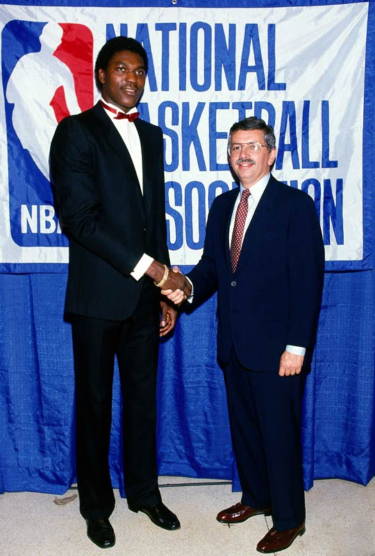 Hoping to play professionally in his adopted home, Olajuwon elected to leave college a year early upon learning the Rockets would participate in the coin flip for the first overall pick in the 1984 NBA Draft. Houston won the toss and selected Olajuwon ahead of future NBA stars Michael Jordan, Charles Barkley and John Stockton.