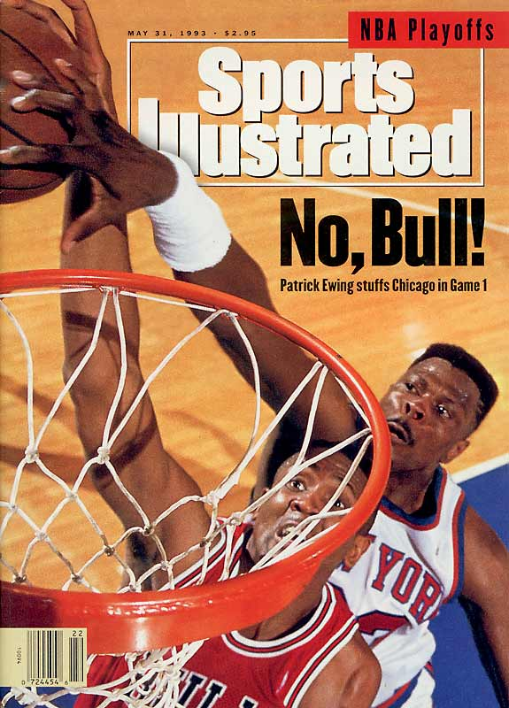 The Knicks entered the 1993 NBA Playoffs as the No. 1 seed in the East after finishing the season with a 60-22 record, advancing to a rematch with the Bulls in the conference finals. New York took a 2-0 series lead and appeared poised to exorcise their Chicago demons. But the Knicks dropped four straight games in a collapse remembered for Charles Smith's famous missed lay-ups in the waning seconds of Game 5.