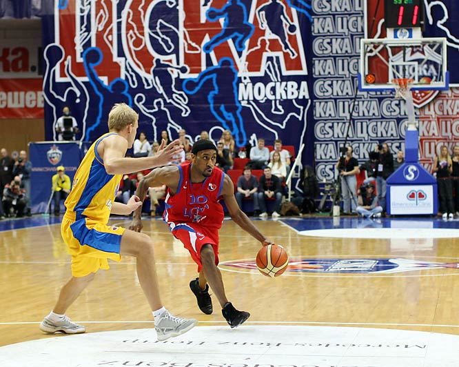 J.R. Holden, an all-Patriot League first team member at Bucknell during the mid-1990s, has emerged as one of Europe's best point guards during six seasons with CSKA. Naturalized in 2003, Holden became a national hero after his 17-foot jumper with 2.1 seconds left gave Russia a stunning 60-59 victory over Spain in last September's European championships.