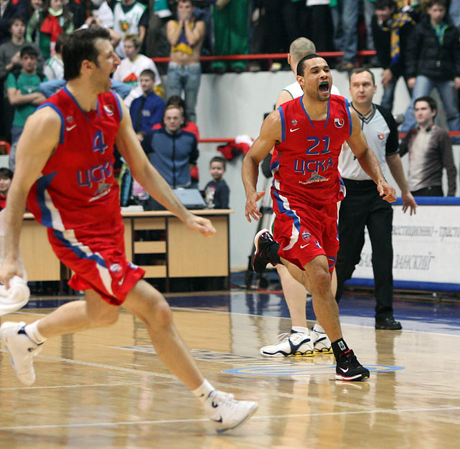 Alaska native Trajan Langdon, an All-America selection during his senior season at Duke in 1999, helped propel CSKA to a Euroleague championship in 2006 and a runner-up finish in last year's tournament.