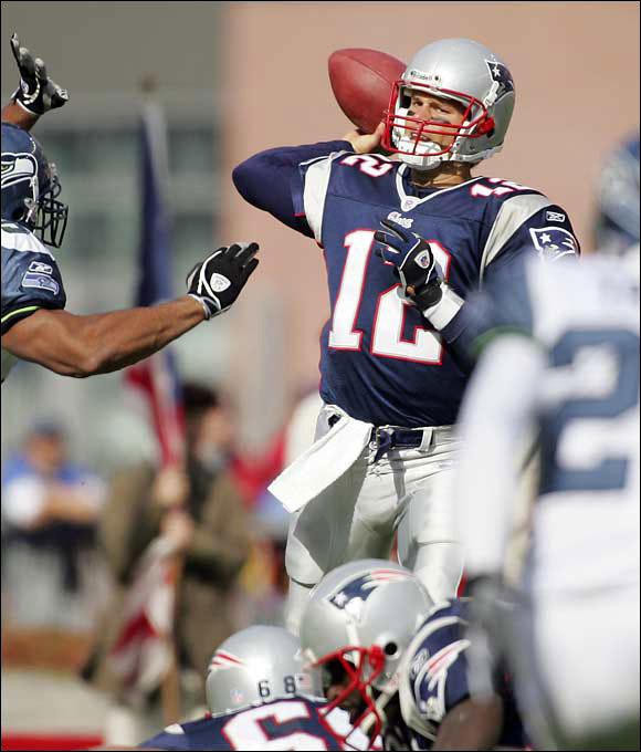 Most scouts didn't believe Brady had the physical tools to be a starting NFL quarterback coming out of Michigan. He was too thin, ran a slow 40 at the Combine and didn't have a strong enough arm. The Patriots saw some upside, but even they had to be surprised at how successful Brady was after taking over for an injured Drew Bledsoe in 2001. Brady became the first QB to start and win three Super Bowls before age 28 and he has the best record (57-14) of any QB in the modern era.