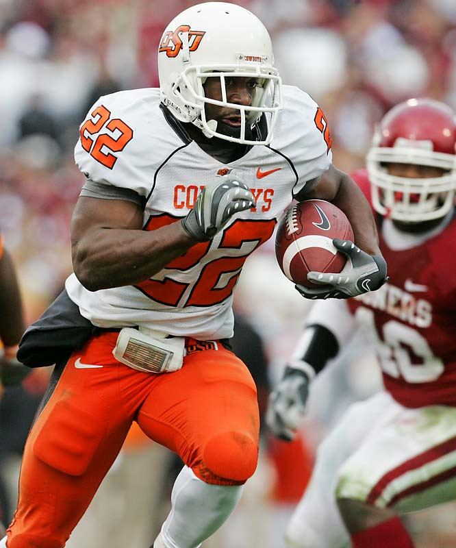 I've always been impressed by Dantrell Savage, yet I've seen next to no draft buzz about him. I know it's a deep class at RB, but I think Savage is going to be a great addition to a team looking for a great, late-round pick. If he does in fact go undrafted, I could certainly see him making an impact as an undrafted free agent a la Ryan Grant.<br><br>Tyler Staley<br> Los Angeles