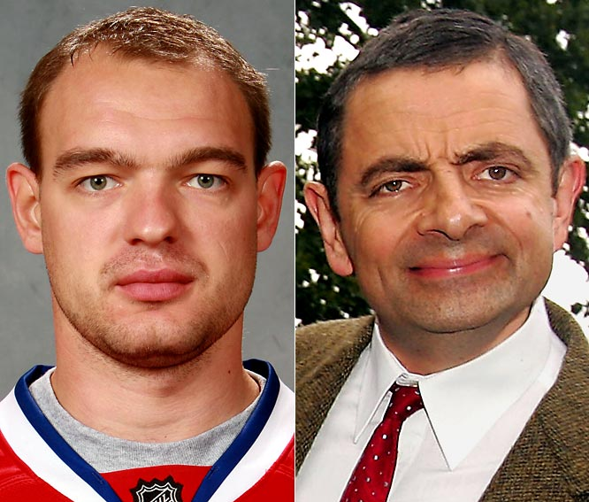 Canadiens defenseman Andrei Markov is coming off a career-high season in goals (16), assists (42) and points (58).<br><br>Rowan Atkinson is a British comedian/actor best known for his character Mr. Bean.
