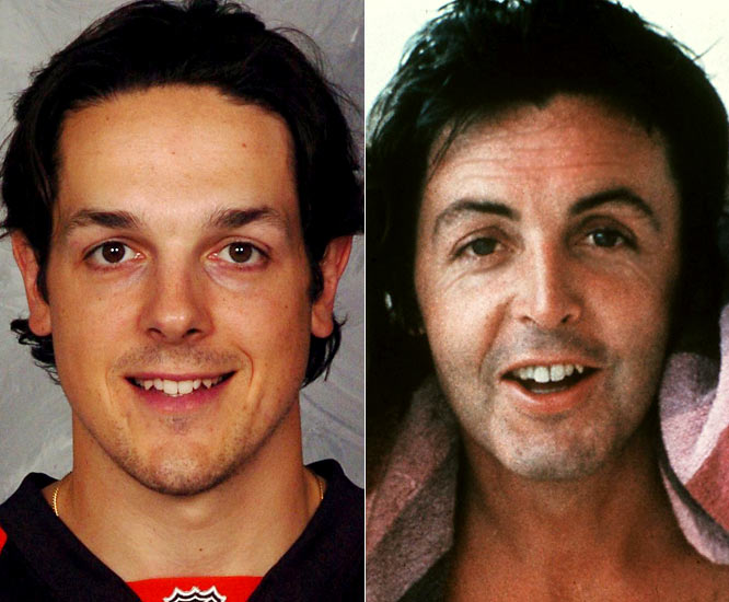 Flyers center Daniel Briere is one of the team's top forwards and has registered at least a point in 14 of his final 15 games of the season.<br><br>Paul McCartney is a legendary musician, most notably with The Beatles, and is considered one of the most successful entertainers of all time.