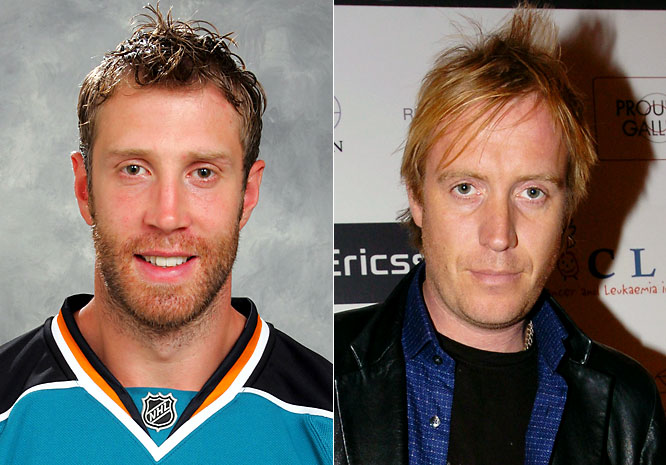 Sharks center Joe Thornton was the league's MVP and leading scorer (125 points) two years ago, and has continued to score with 114- and 96-point seasons respectively.<br><br>Rhys Ifans might be best remembered stateside for playing Hugh Grant's gross naked roommate in <i>Notting Hill</i> and place kicker Nigel ''The Leg'' Gruff in <i>The Replacements</i>. Ifans has since starred in <i>Elizabeth: The Golden Age</i>, <i>Danny Deckchair</i>, and <i>Vanity Fair</i>.