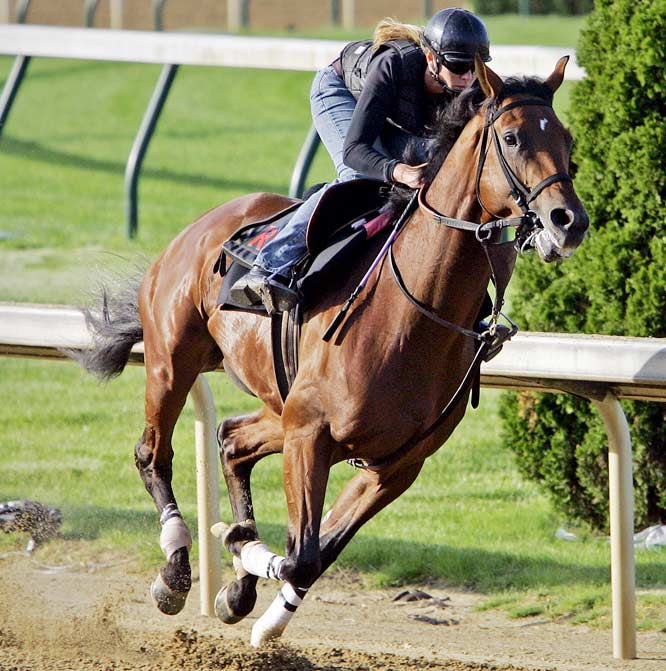 Post Position: 20<br>Trainer: Rick Dutrow<br>Jockey: Kent Desormeaux<br>Is he the second coming of Secretariat or the second coming of Bellamy Road (the much-hyped, beaten favorite in 2005). Dutrow is brashly confident. ``I haven't seen a horse with my eyes that can beat him,'' he said this week, among many other similar declarations. Big Brown is 3-0 lifetime and his wire-to-wire victory in the March 29 Florida Derby was the most impressive prep victory of the year. But before you wager the mortgage, remember two things: No horse since 1915 (Regret) has won the Derby in his fourth lifetime start, and no horse since gelding Clyde Van Dusen has won the Derby from the No. 20 post position. This from a fast horse with chronic foot problems? Too much to ask.