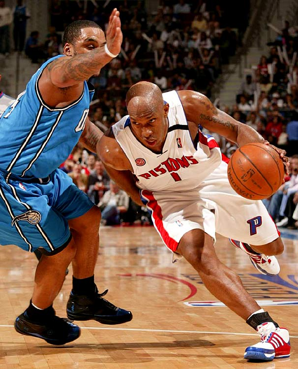 Jameer Nelson and the Magic couldn't keep Chauncey Billups from scoring a game-high 19 as Detroit sought to reach the Eastern Conference finals for the sixth consecutive season.