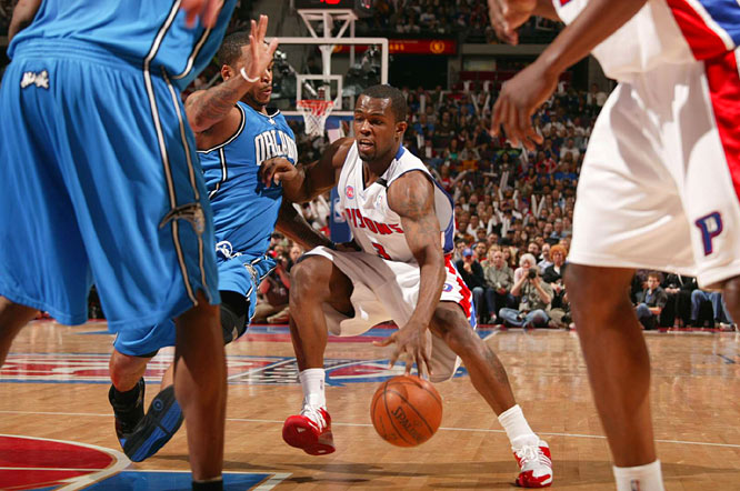 Rodney Stuckey had four points, three rebounds and two assists in 20 minutes of action during Detroit 91-72 series-opening victory over Orlando on Saturday.
