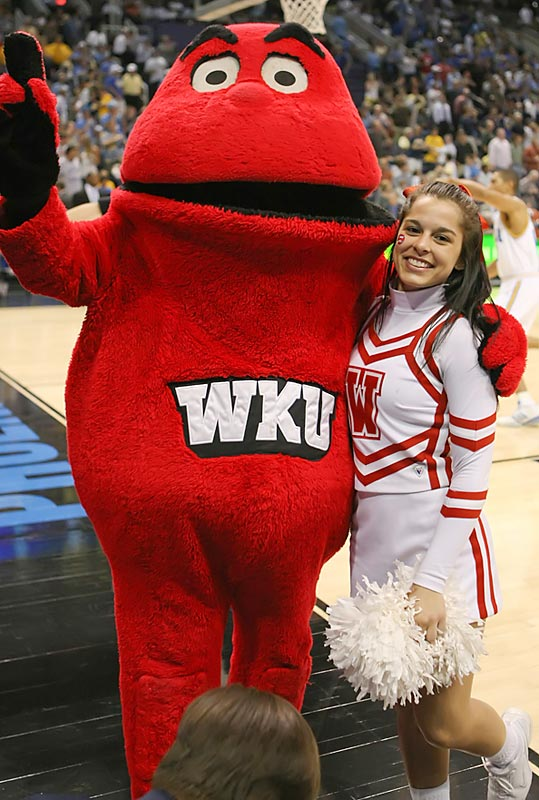 Meet Nikki, a freshman broadcast major and proud member of the Western Kentucky cheer squad. When she's not rooting on her Hilltoppers, Nikki likes to watch hockey and listen to Kenny Chesney. Wanna find out more? Click on the 20 Questions link below.