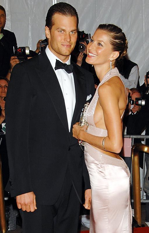 Tom Brady and Gisele Bundchen...