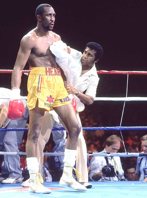 Thomas Hearns becomes a world champion for the sixth time, capturing the World Boxing Association's light-heavyweight title with a 12-round unanimous decision over Virgil Hill.