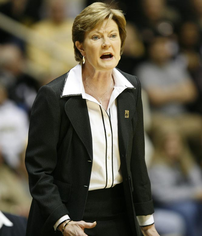 Tennessee raises Pat Summitt's salary to $1.125 million for next season and extends her contract by six years, making her the first millionaire coach in women's basketball.