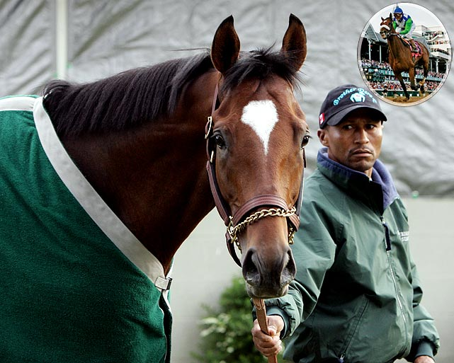 It was one of the most dominating wins ever in the Derby, but it wasn't done by 3-1 morning favorite, Brother Derek, who finished fourth. No, the amazing feat went to Barbaro (inset), whose 6 1/2-length victory margin was the fifth-largest in 132 years of the race.