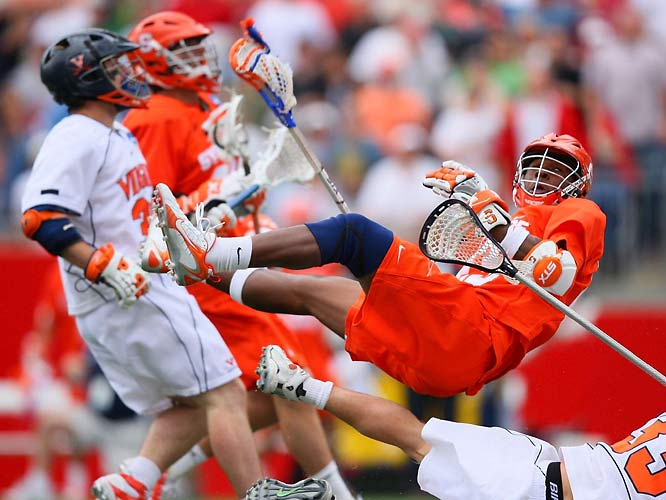 Syracuse topped Virginia 12-11 in a double overtime thriller in the semifinals.