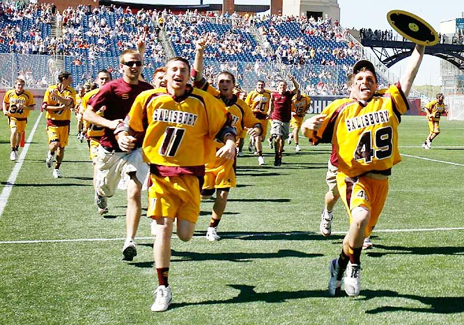 Salisbury's 19-13 victory over Cortland (N.Y.) State for the Division III title marked the Sea Gulls' 45th straight win.