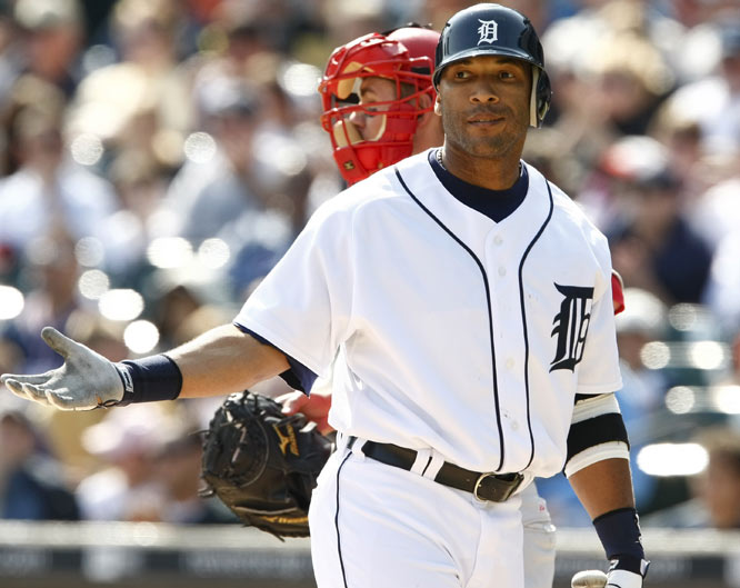 The DH of the slumping Tigers has just two home runs in his first 20 games.