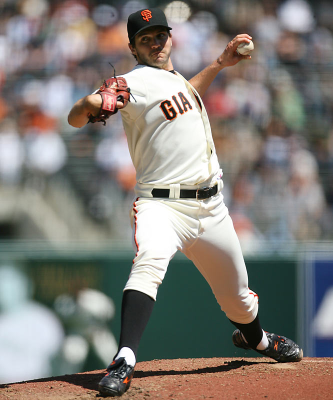 The Giants' major free-agent signing of 2006 has yet to prove he is worth the seven-year, $126 million  contract he was given. The 2002 CY Young winner is off to a 0-6 start with a 7.53 ERA and has temporarily lost his starting job.