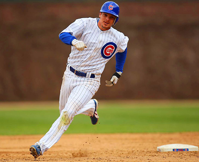 The third-year shortstop has maintained a .325 batting average on a steady diet of singles, logging just 11 extra-base hits on the season. Can he avoid last year's second-half swoon and help keep the Cubs atop the NL Central?