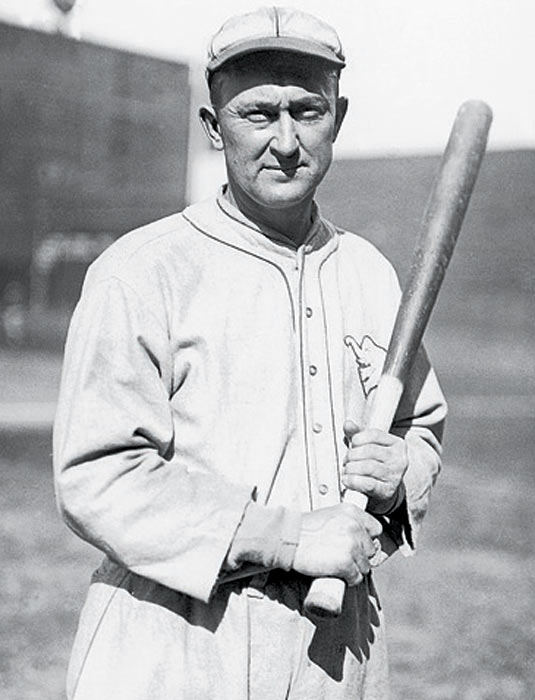 A member of the Hall of Fame's charter class of '36, the Georgia Peach was more the Georgia Lemon -- a mean-spirited, violent, racist misanthrope who attacked a groundskeeper and the man's wife in 1907, got suspended for going into the stands to stomp a fan in 1912, and was ultimately exonerated of fixing a game in 1919 though there was strong evidence of his guilt.