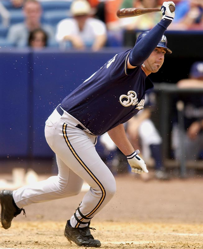 Kieschnick earned a reputation as a jack of all trades during his brief major-league career and the Brewers made full use of his versatility during the 2003 season. Contributing as a relief pitcher, left fielder, designated hitter and pinch hitter, Kieschnick hit .300 with seven homers and 12 RBI.