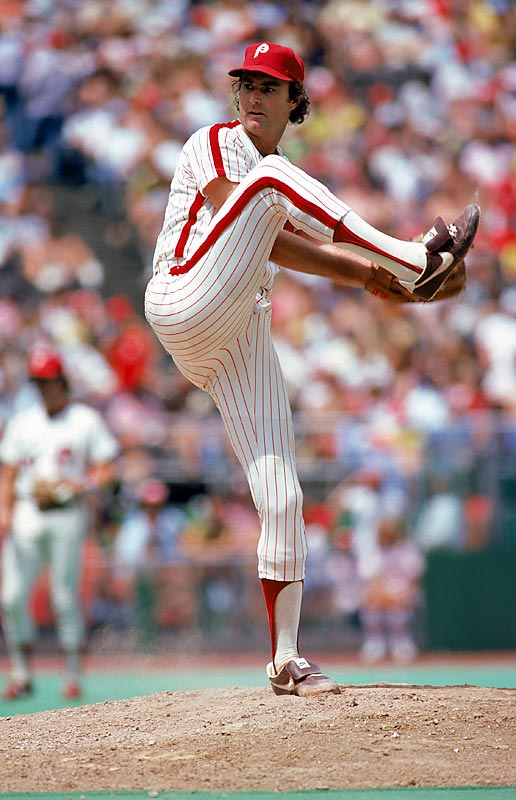 The Philadelphia Phillies' struggles in 1972 had nothing to do with Steve Carlton. Though the club went 59-97 . Lefty posted an amazing 27-10  record, leading the league in wins, complete games (30) and strikeouts (310).