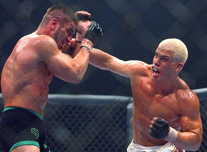 Argue all you want, but here's our picks for some of the best rivalries in the sport (in no particular order).Tito Ortiz has worn explicit shirts for most of his victories, but it's clear he has a special loathing of Lion's Den head Ken Shamrock. There's no need to restate Tito's exact words/t-shirts after each of their three meetings.
