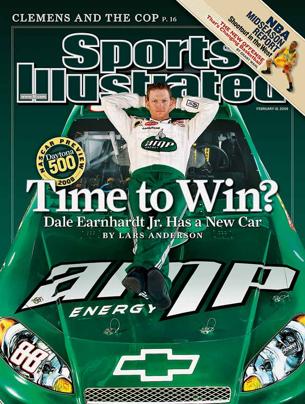 Everyone expected Dale Earnhardt Jr. to be better this season after a lameduck end to 2007 in which his cars simply weren't competitive. Yet Dale Jr. has surprised even his biggest fans by being not only the best driver at Hendrick Motorsports but also challenging for the points lead. Wait until he wins a race!