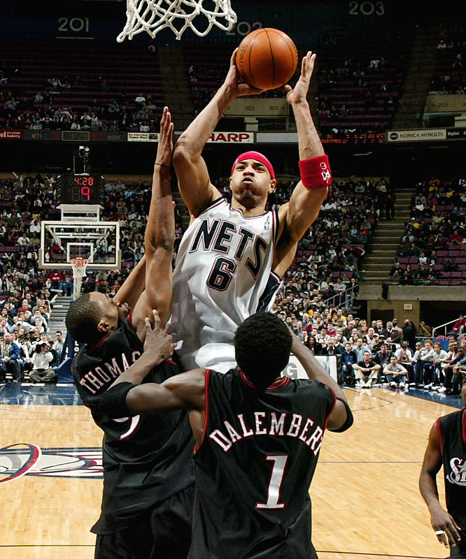 Pegged to draft seventh after a 31-51 season, the Nets instead cashed in on their 4.4 percent chance of winning the lottery. New Jersey picked forward Kenyon Martin, who proved to be a key part of back-to-back Finals teams in 2002-03 before being shipped to Denver as part of a sign-and-trade deal in 2004.