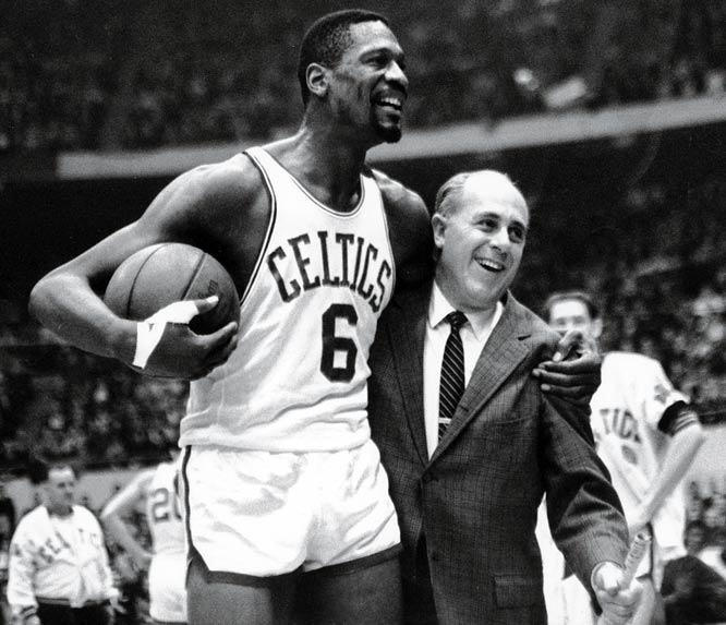 In the midst of winning eight consecutive championships, the Celtics escaped 110-107 in overtime. The Lakers had an opportunity to win it in regulation, but Frank Selvy missed a mid-range shot in the closing seconds.