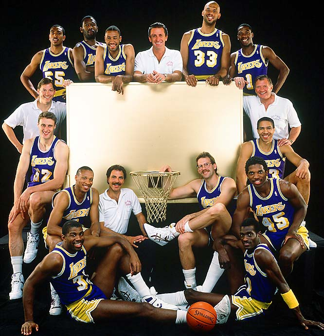 Facing an upstart Detroit team in their third Game 7 of the playoffs, the Lakers defended their NBA championship with a 108-105 victory in Los Angeles. Finals MVP James Worthy led the way with 36 points and 16 rebounds, while the Pistons were weakened by Isiah Thomas' lingering ankle injury.
