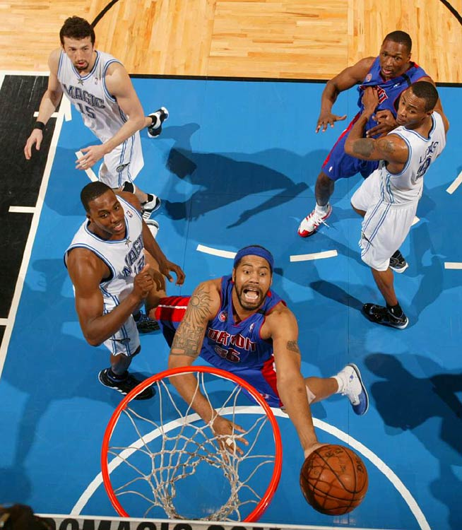 Rasheed Wallace was held to just 11 points in the Pistons' Game 3 loss in Orlando. Wallace was 4-for-15 from the field as the Magic got their first win of the series.
