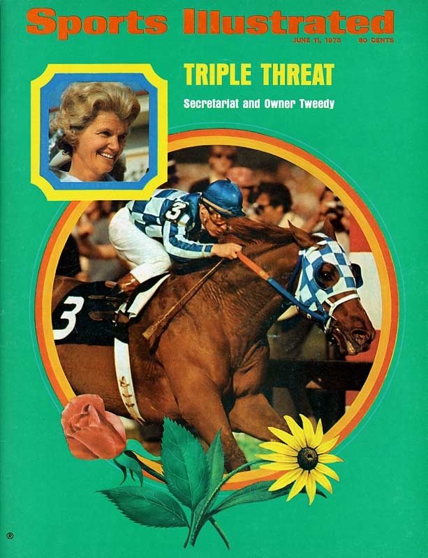 Secretariat came through on 3-to-10 odds to win the Preakness en route to becoming the first Triple Crown winner since 1948.