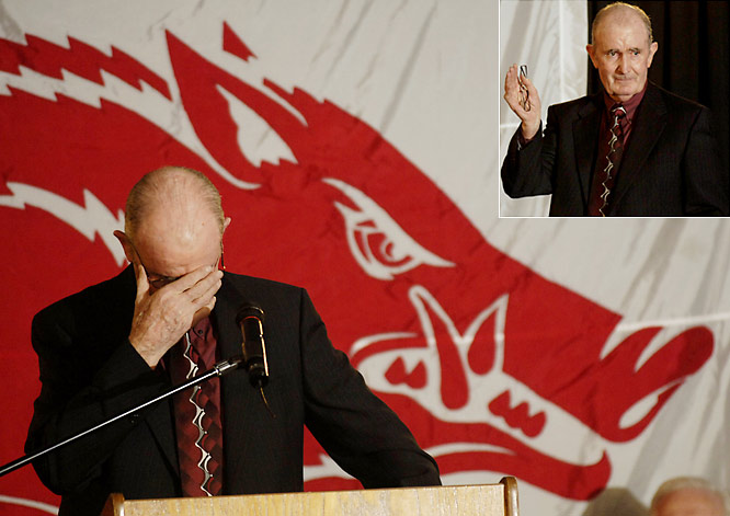 At 69, Arkansas' men's track and field coach John McDonell, who has won 42 national titles and 83 conference crowns, announced that he will retire after the outdoor season.