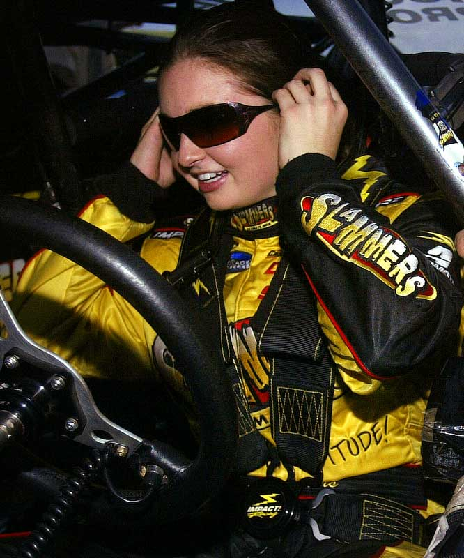 Enders began her Pro Stock career in 2005 and has raced to two final rounds while setting several personal-best elapsed time and top-speed marks.  She signed with Mach 1 Air Services in 2007, finishing that season with a 5-7 overall record.