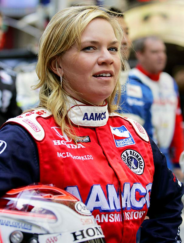 Fisher's second-place finish in the IRL race at Homestead in 2001 is the second-best result for a woman driver in Indy-style racing. She'll make her 2008 debut at this year's Indy 500, driving for her newly formed Sarah Fisher Racing team.