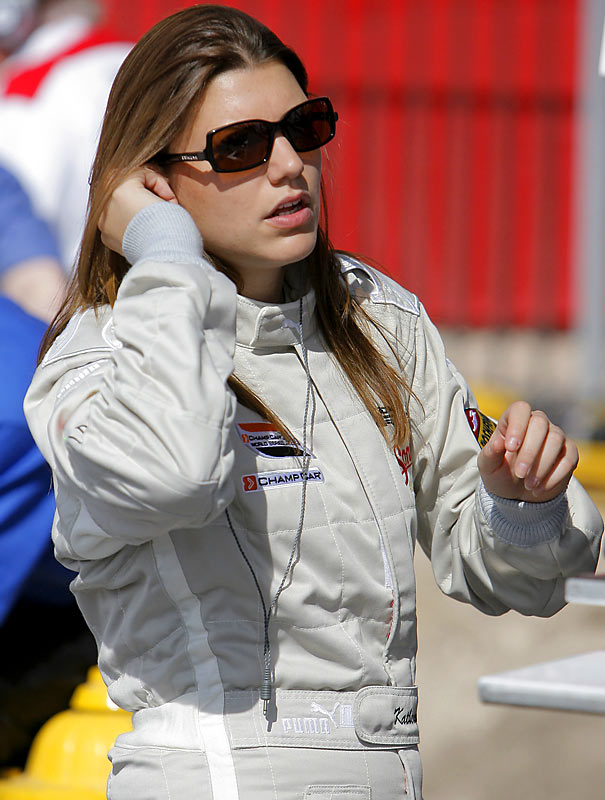 The British native drove in the old Champ Car series in 2006 and '07, finishing sixth at Milwaukee two years ago. This spring she switched to the DTM series.