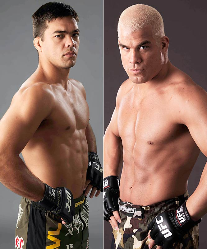 A classic battle hinging on who wins the takedowns.Winner: Ortiz (near left)How: Ortiz must outwrestle Machida, put the undefeated Brazilian on his back, and rough him up with elbows and short punches to secure a points victory.When: At the end of three rounds.