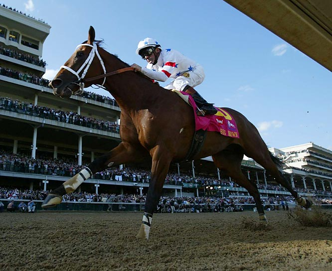 It was a day of triumph and tragedy at Churchill Downs on Saturday, as favorite Big Brown ran against his post-position odds for the win and lone filly Eight Belles fell at the finish line and had to be euthanized.