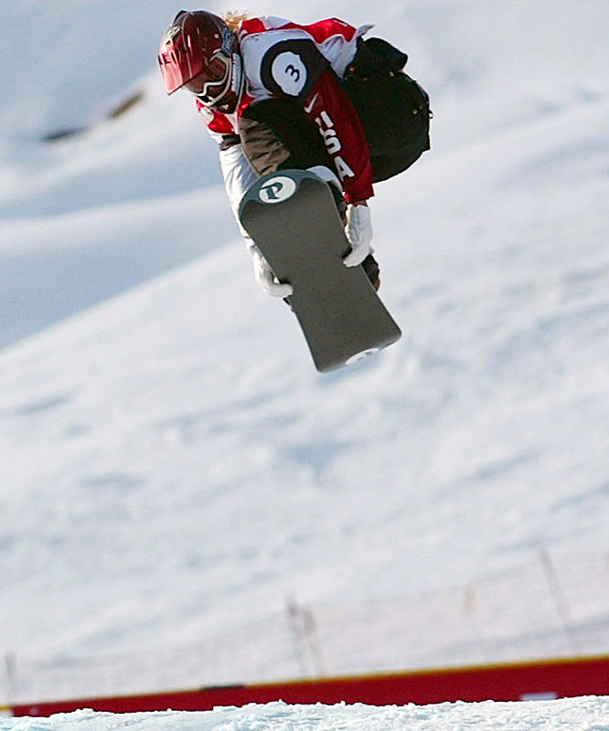 After her infamous showboat move cost her a gold medal at the Turin Olympics in 2006, Jacobellis got serious. She won her second-straight snowboard cross world championship last January, picked up a silver medal at the X Games one week later and topped off the season in March with back-to-back World Cup victories at Whiteface Mountain near Lake Placid, N.Y., to win her first Cup title. She also won gold at the 2008 X Games.