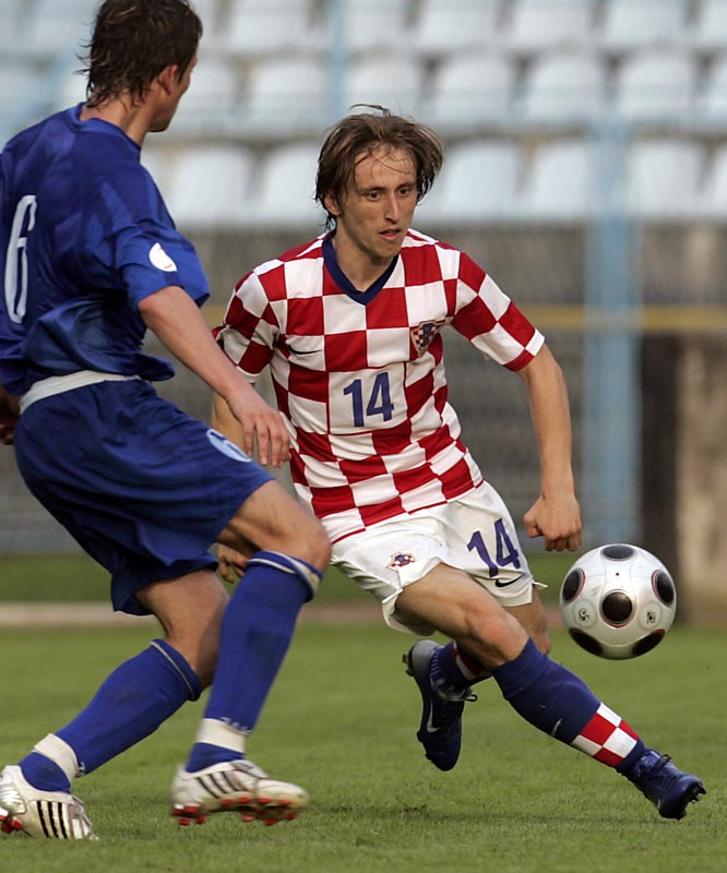 A crowd-pleasing, playmaking central midfielder with an uncanny ability for reading the pitch, Modric led Dinamo Zagreb to the past three Croatian league titles. He's headed to the English Premier League this fall, with London club Tottenham Hotspur having shelled out $23 million for the 22-year-old phenom.
