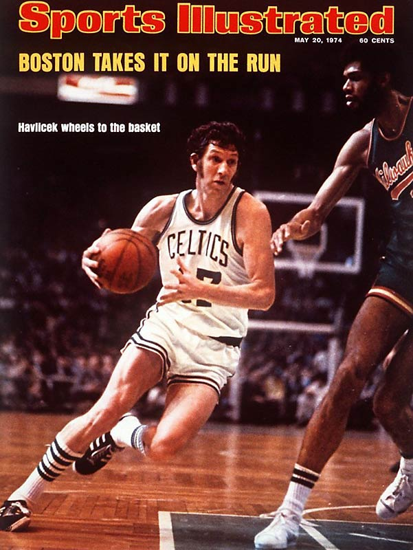 The Celtics' iron man wasn't the smoothest player around, but certainly one of the toughest. He could do everything at both ends of the floor. He played with great intensity, yet never seemed to lose his composure. Havlicek made individual perimeter defense a glamour skill. Clutch time was Havlicek time.