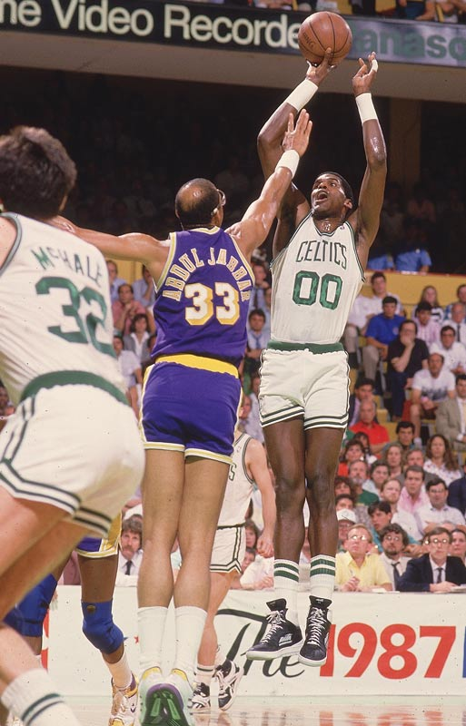 The Chief had classic post moves and an almost unblockable, distinctive jump shot. Parish was a big-time rebounder and timely shot-blocker, and he ran the floor exceptionally well for a 7-footer. Though seldom the primary offensive threat, but he was always ready to take over the game when called upon.