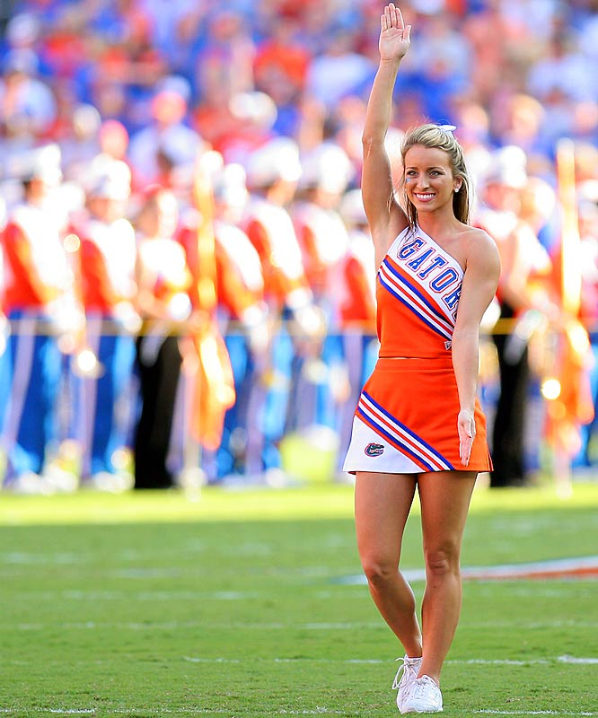 Meet Britany, a physiology and kinesiology student and proud member of the Florida cheer squad. When she's not rooting on her Gators, Britany enjoys listening to country music and partaking in her guilty pleasure -- cookies. Want to find out more? Click on the 20 Questions link below.