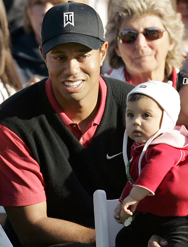As the top-earning athlete in all of professional sports and the No. 1 golfer in the world, Tiger Woods reached a new milestone when he and Elin welcomed their first child, daughter Sam Alexis.
