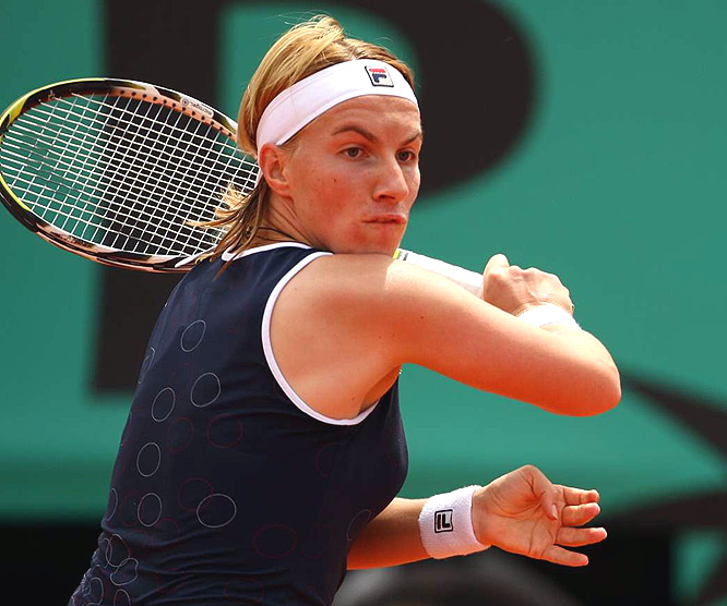 Harsh to give a semifinalist such a low grade. But Russian played up to her seeding, reached the semis, and then simply failed to show up for one of the biggest matches of her life.