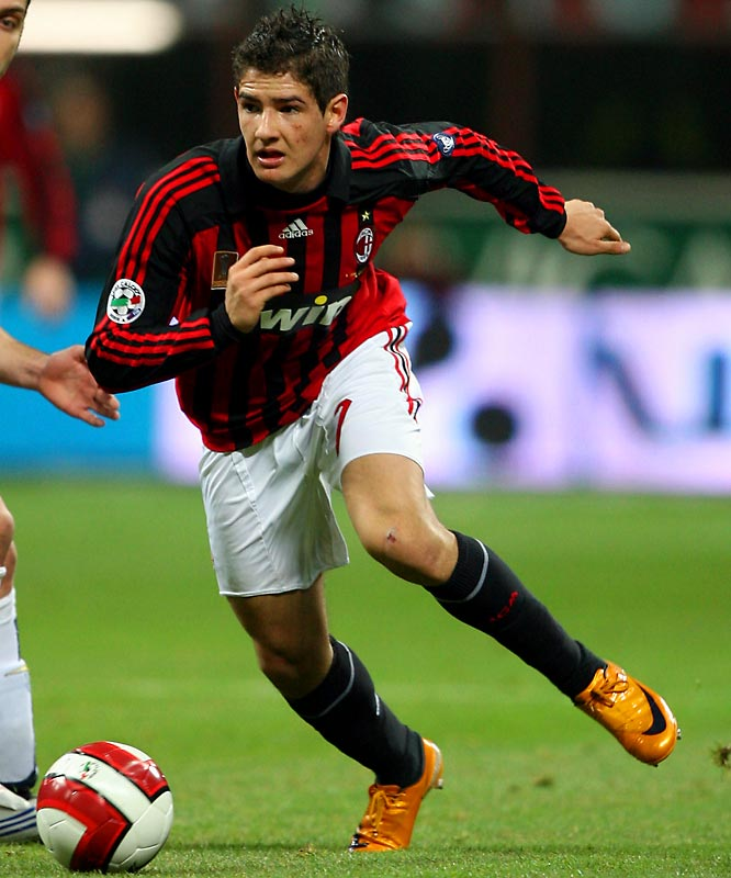 Pato, 18, has emerged as a rising star for AC Milan and the Brazilian national team. While playing for his former team -- Brazilian club Internacional -- at the 2006 Club World Cup, the striker became the youngest goal-scorer in the history of official federation competitions at 17 years and 102 days, breaking the mark set by Pelé at the 1958 World Cup by 137 days.