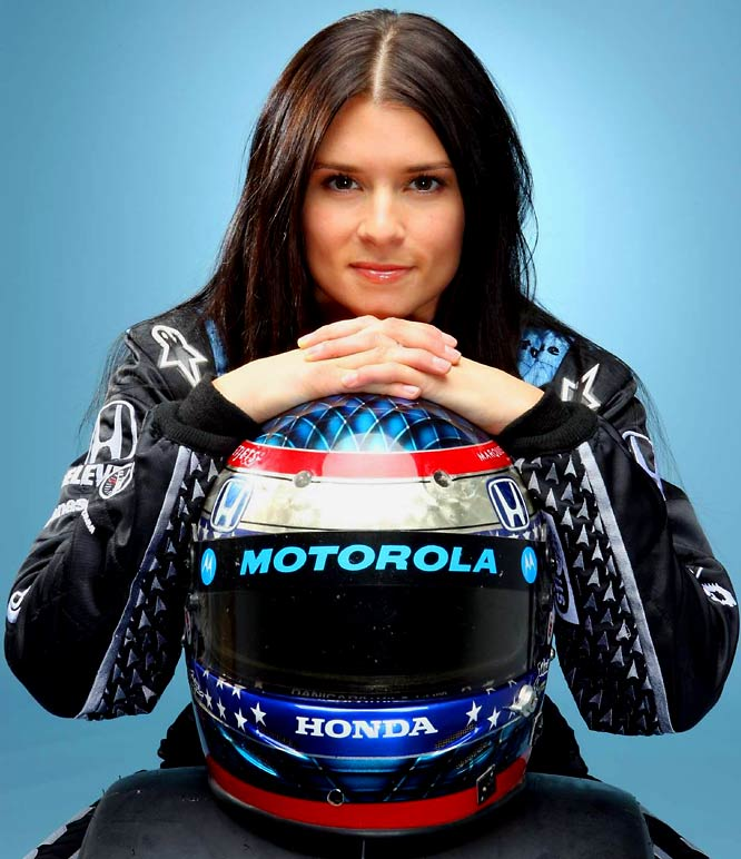 Fresh off her history-making victory at the Indy Japan 300, Patrick's star continues to rise. The face of the Indy Racing League -- and an SI Swimsuit Model -- has a surplus of endorsement deals with companies such as Motorola, AirTran, Honda, Peak and GoDaddy.